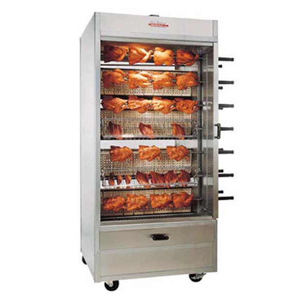 Grilled chicken machine