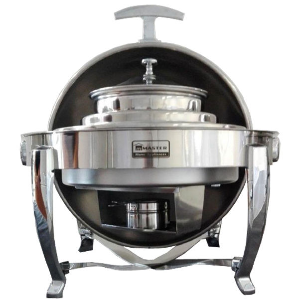 Royal Round Roll-Top Soup Chafing Dish